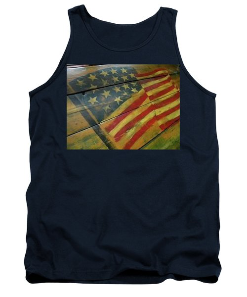 The Great American West Cafe  Tank Top by Sian Lindemann
