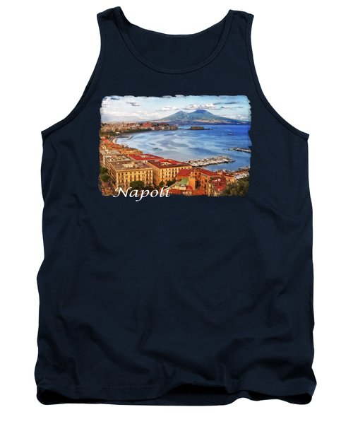 The Gulf Of Naples Tank Top