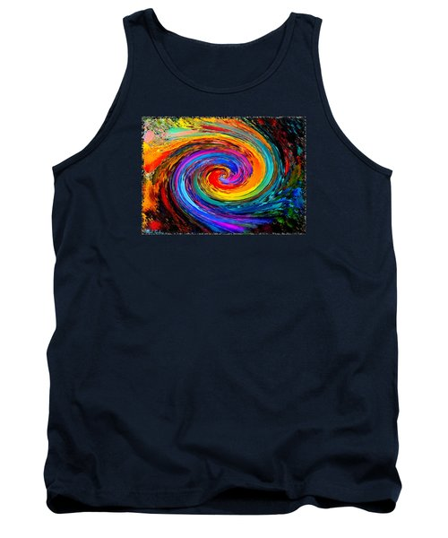 The Hurricane - Abstract Tank Top