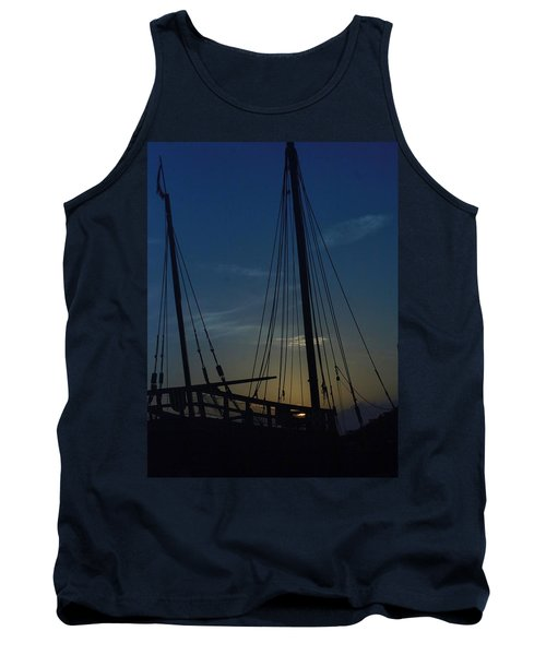 Tank Top featuring the photograph The Journey Began by John Glass