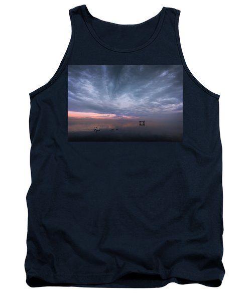 The Journey Of The Swans Tank Top