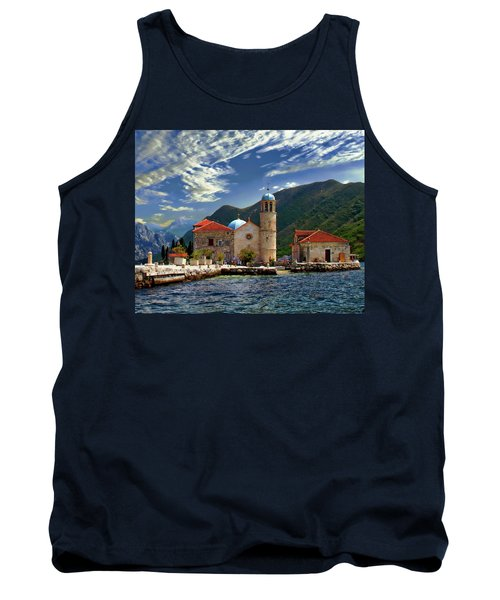 The Lady Of The Rocks Tank Top