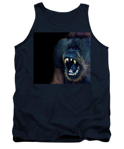 The Laughing Orangutan Tank Top by Martin Newman