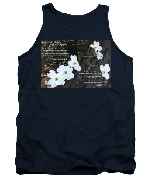 The Legend Of The Dogwood Tank Top