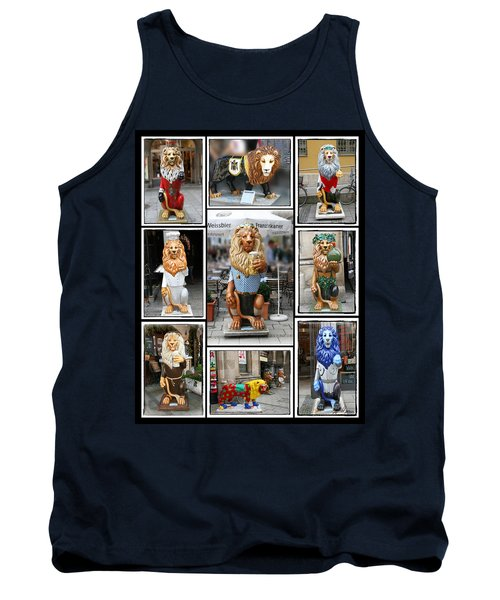 The Lions Of Munich Tank Top