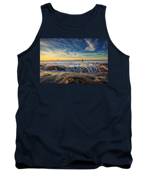 The Lone Surfer Tank Top