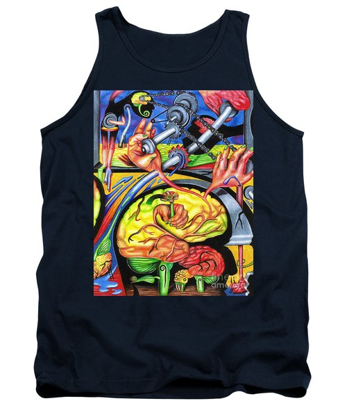 The Mechanics Of Consciousness Tank Top