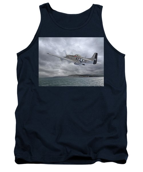 The Mission - P51 Over Dover Tank Top