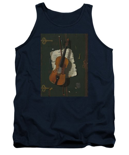 The Old Violin Tank Top