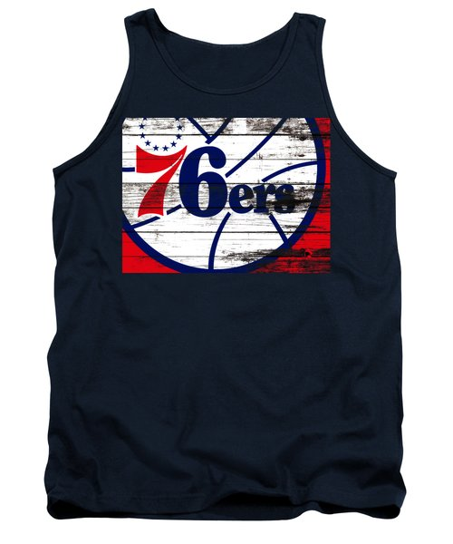 The Philadelphia 76ers 3e       Tank Top by Brian Reaves