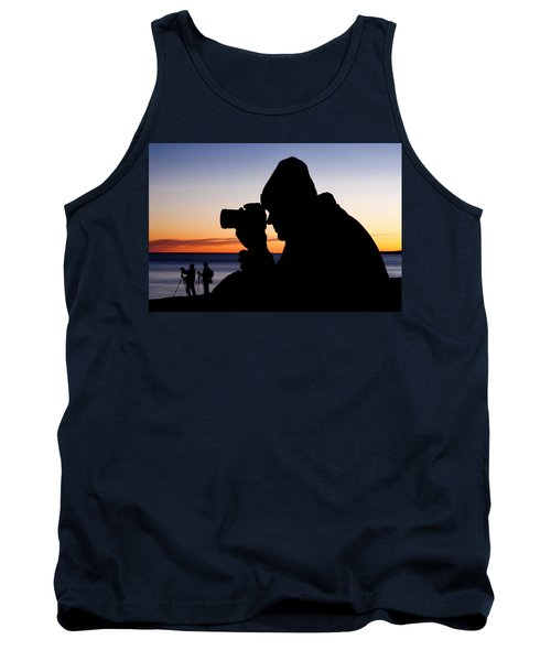 The Photographer Tank Top by Greg Fortier