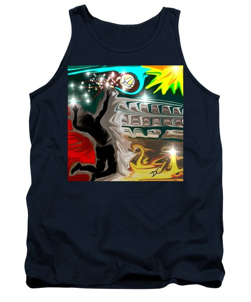 The Power Of Volleyball Tank Top
