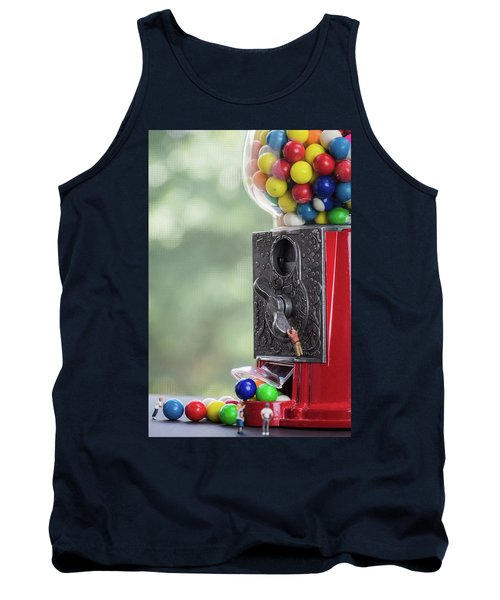 The Problem With Gumball Machines Tank Top