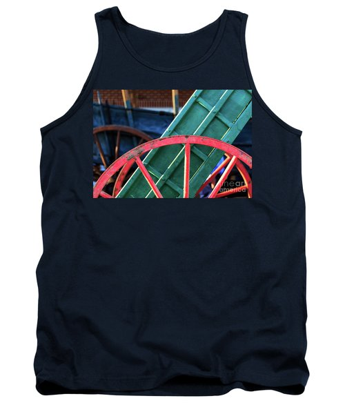 The Red Wagon Wheel Tank Top
