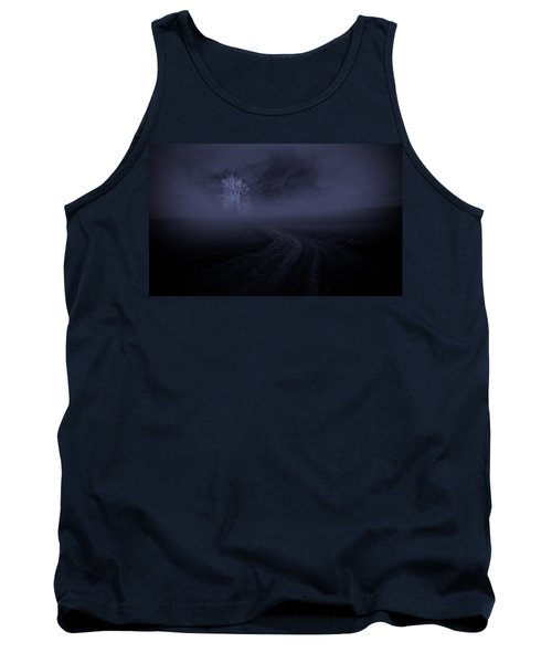 Tank Top featuring the photograph The Road by Robert Geary