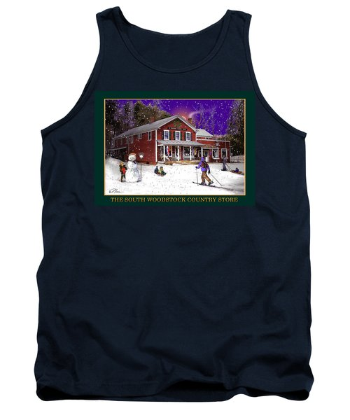 The South Woodstock Country Store Tank Top by Nancy Griswold
