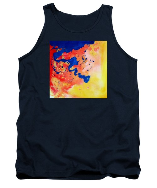 The Spill Tank Top by Mary Kay Holladay