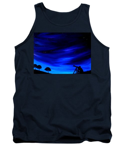 The Star Gazer Tank Top by Scott Wilmot