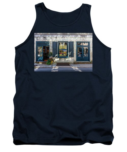 The Streets Of Charleston Tank Top by Menachem Ganon