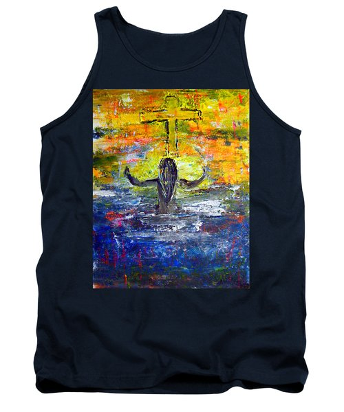The Strength Of The Survivor 4 Tank Top