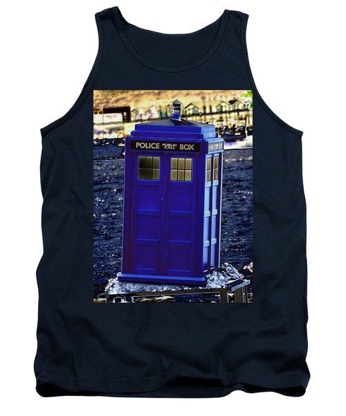The Tardis Tank Top by Steve Purnell