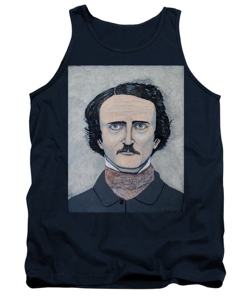 The Telltale Heart Of Edgar Allen Poe. Tank Top by Ken Zabel