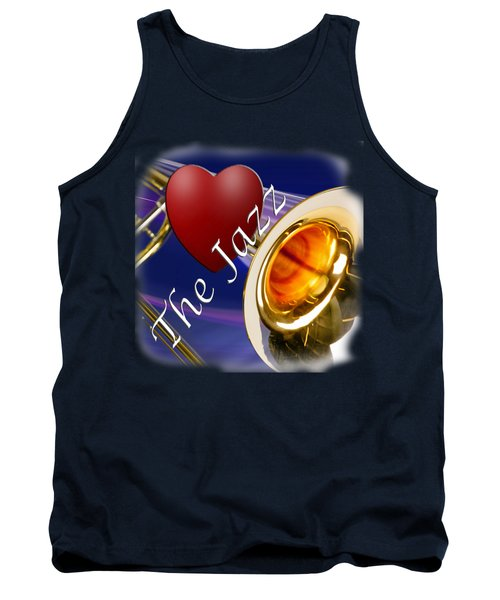 The Trombone Jazz 002 Tank Top