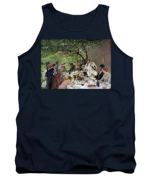 The Wedding Meal At Yport, 1886 Tank Top