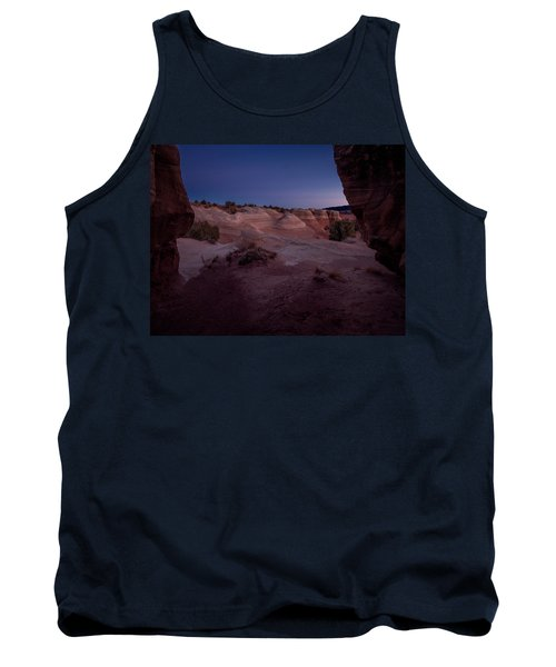 Tank Top featuring the photograph The Window In Desert by Edgars Erglis