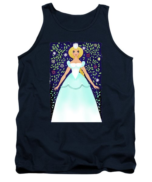 The Winter Fairy Brings The First Frost  Tank Top