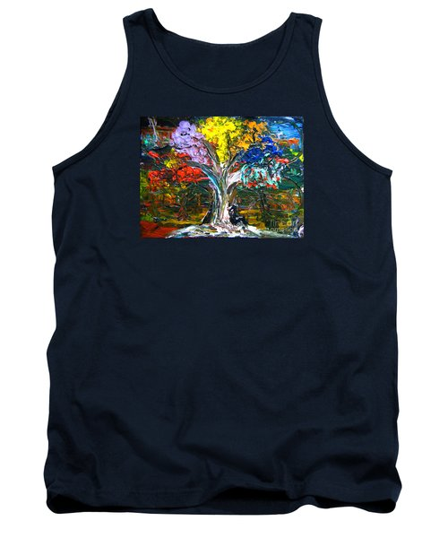 The World Moves For Love By Colleen Ranney Tank Top