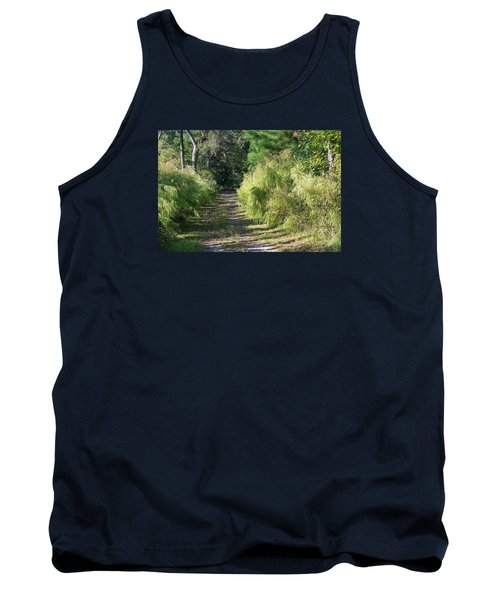 The Yellow Trail Tank Top by Kenneth Albin