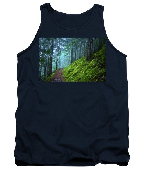 Tank Top featuring the photograph There Is Light In This Forest by Tara Turner