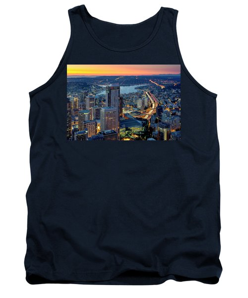 Threads Of Life Tank Top by Ryan Manuel