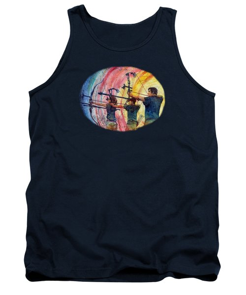 Three 10s Tank Top by Hailey E Herrera