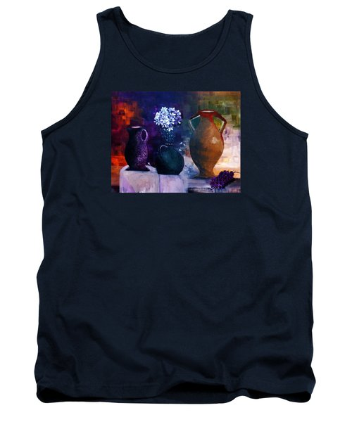 Tank Top featuring the painting Three Best Friends by Lisa Kaiser