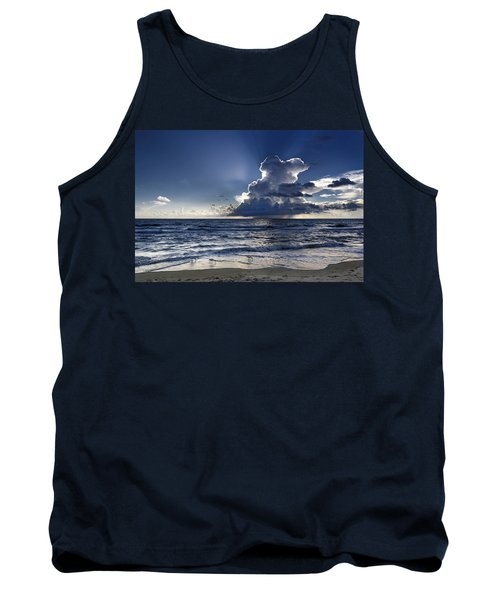 Tank Top featuring the photograph Three Ibises Before The Storm by Steven Sparks
