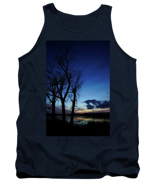 Tank Top featuring the photograph Three Sisters by Cricket Hackmann