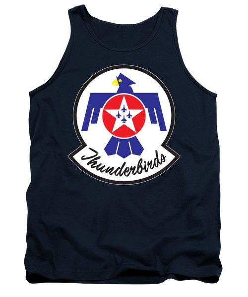 Thunderbirds Logo Tank Top