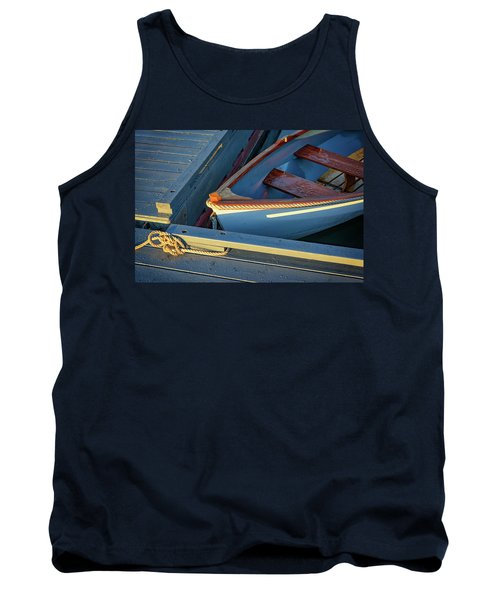 Tank Top featuring the photograph Tied Up by Rick Berk