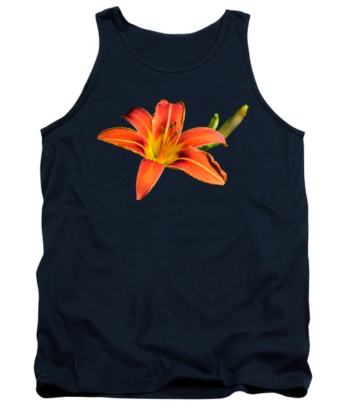 Tank Top featuring the photograph Tiger Lily by Christina Rollo