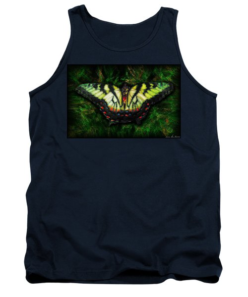 Tiger Swallowtail Tank Top by Iowan Stone-Flowers