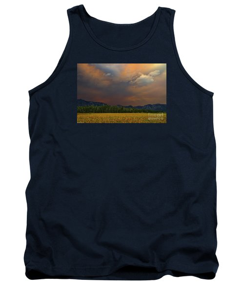 Tormented Sky Tank Top by Mitch Shindelbower
