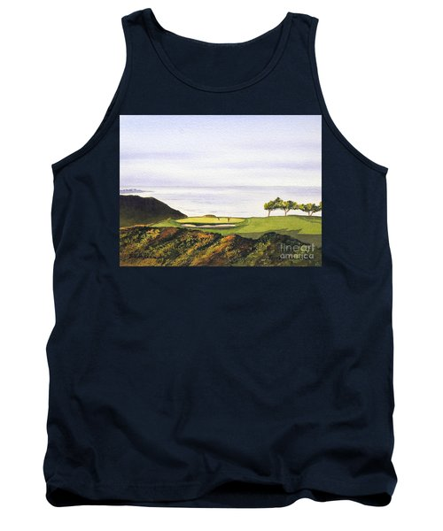 Torrey Pines South Golf Course Tank Top by Bill Holkham