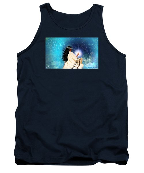 Touch The Light Tank Top by Dolores Develde