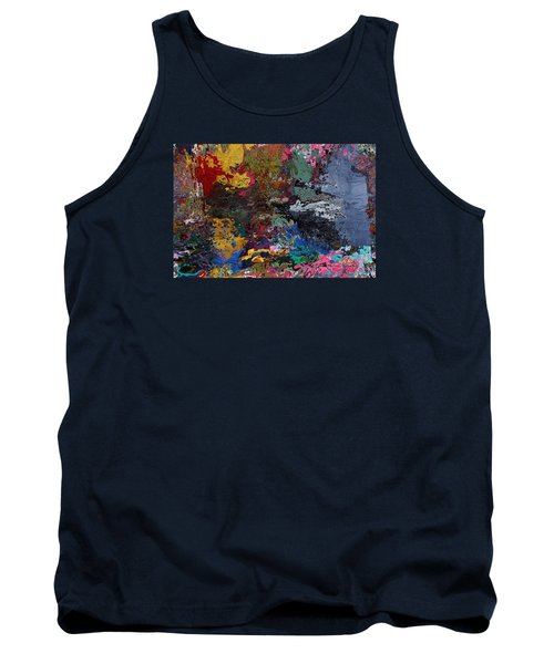 Tranquil Escape-1 Tank Top by Alika Kumar