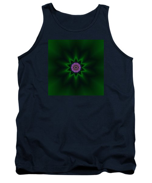 Tank Top featuring the digital art Transition Flower 10 by Robert Thalmeier