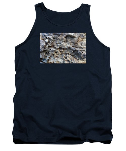 Tank Top featuring the photograph Tree Bark 1 by Jean Bernard Roussilhe