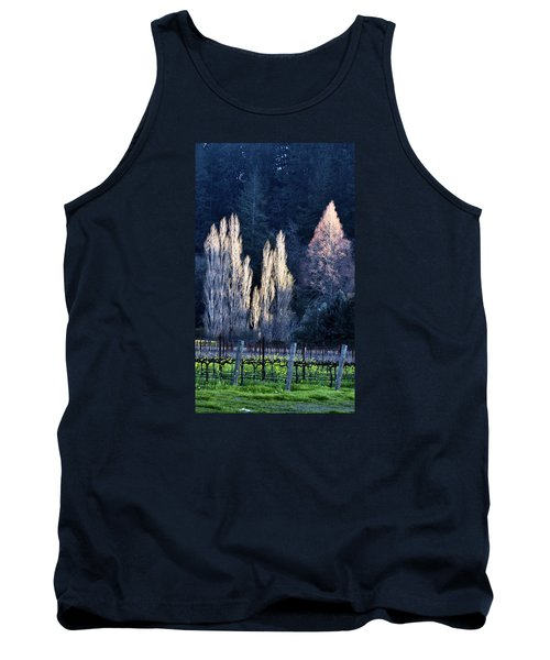 Trees In Fall Napa Valley Tank Top by Josephine Buschman
