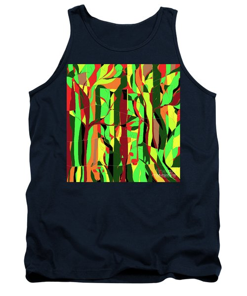Trees In The Garden Tank Top